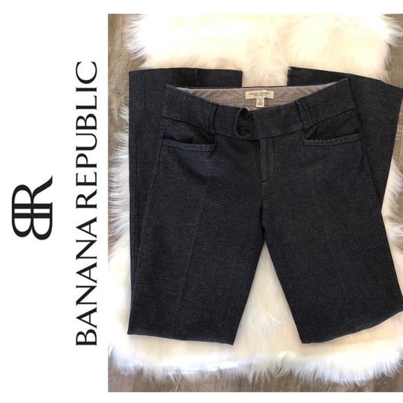 Banana Republic Pants - Banana Republic Sloan Fit Pants + Blue + 4L